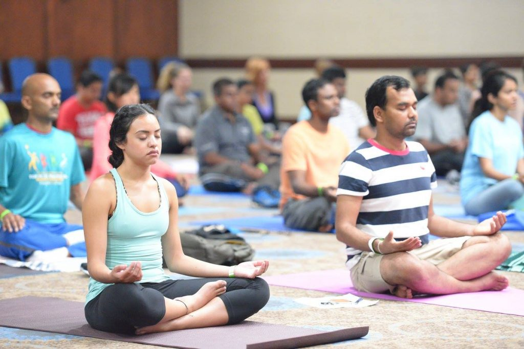reasons to go to yoga festival